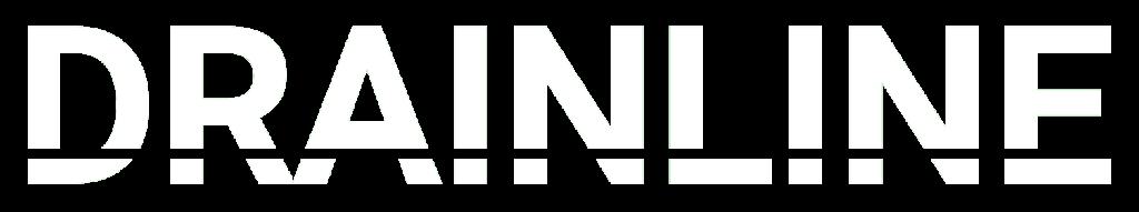 Drainline logo white